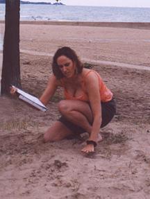 Beach Poets, kneel at the trees